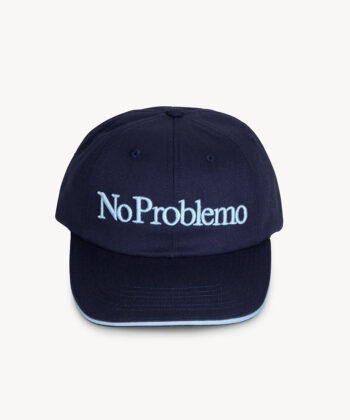CAPPELLINO BASEBALL NO PROBLEMO ARIES BLUE blue express family streetwear hip hop