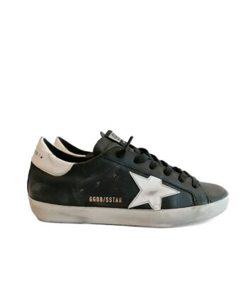SNEAKERS GGDB SUPER-STAR NERE golden goose deluxe brand blue express family
