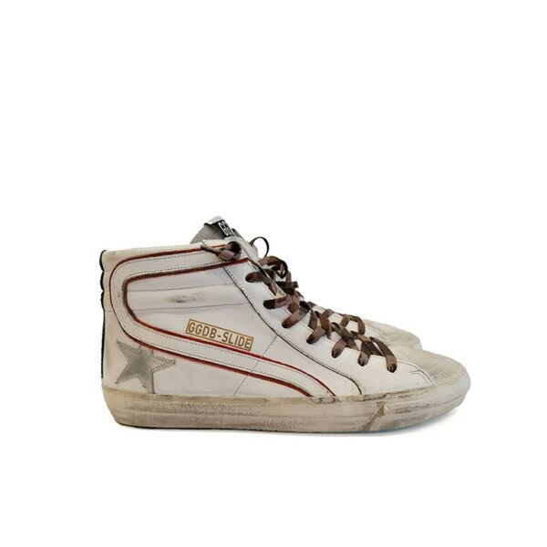 SNEAKERS GGDB SLIDE BIANCHE golden goose deluxe brand blue express family