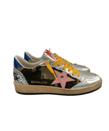 SNEAKERS GGDB BALL STAR MIMETICHE blue express family golden goose