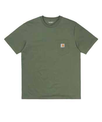 T-SHIRT CARHARTT POCKET VERDE blue express family Carhartt WIP