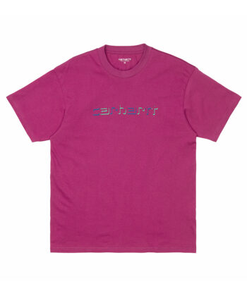 T-SHIRT CARHARTT SHADOW FUXIA blue express family wip Verona