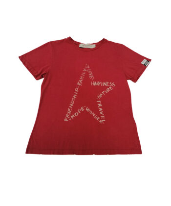 T-SHIRT ANIA GGDB ROSSA blue express family