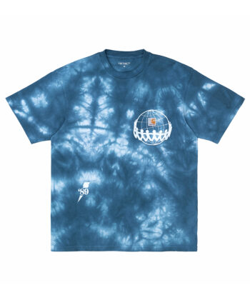T-SHIRT CARHARTT JOINT BLUE blue express family wip Verona