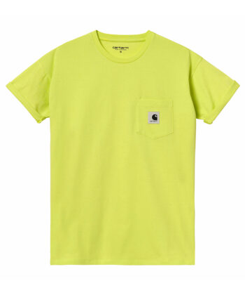 T-SHIRT W CARHARTT POCKET LIME blue express family wip Verona