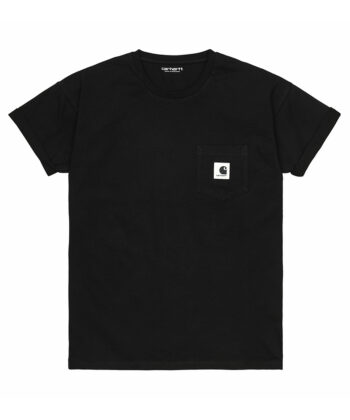 T-SHIRT W CARHARTT POCKET NERA blue express family wip Verona
