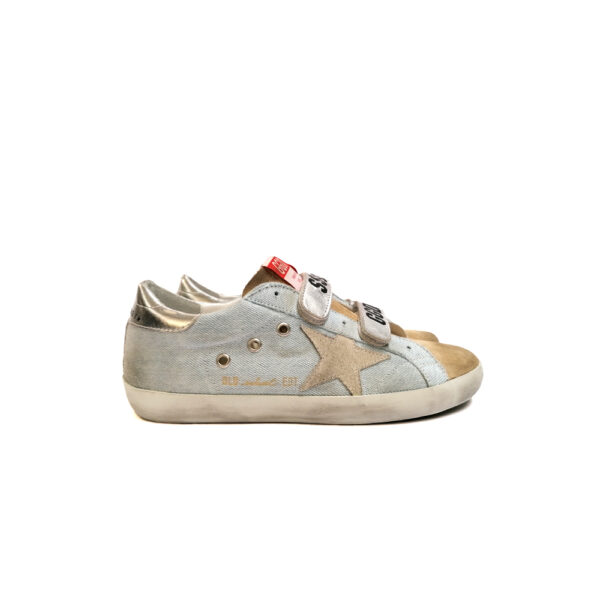 SNEAKERS GGDB OLD-SCHOOL AZZURRE blue express family Verona Stella