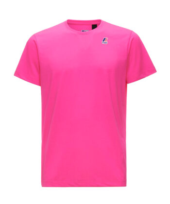 T-SHIRT K-WAY EDOUARD FUCHSIA FLUO blue express family way Verona