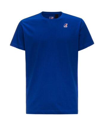 T-SHIRT K-WAY EDOUARD BLUE streetwear verona blue express family