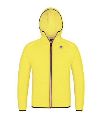 FELPA K-WAY VICTOR GIALLO FLUO hoodie blue express family verona