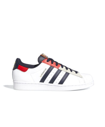 SNEAKERS ADIDAS SUPERSTAR BIANCHE/MULTICOLOR official verona worldwide streetwear blue express family