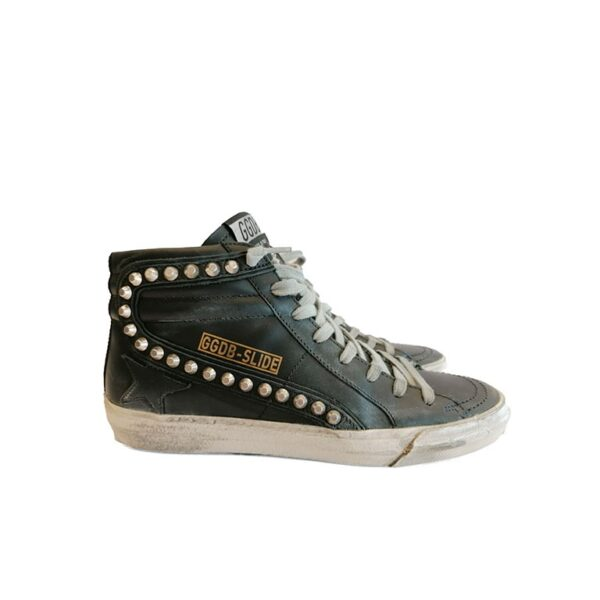 SNEAKERS GGDB SLIDE NERE golden goose deluxe brand blue express family