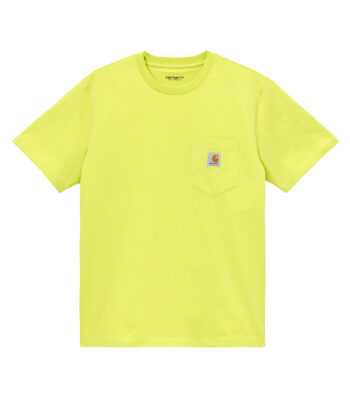 T-SHIRT CARHARTT POCKET LIME Carhartt WIP Verona blue express family