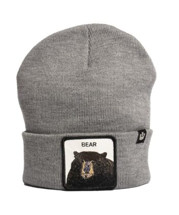 BEANIE BEAR GOORIN BROS GREY