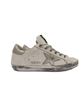 SNEAKERS GGDB SUPER-STAR BIANCHE blue express family golden goose