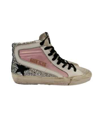 SNEAKERS GGDB SLIDE ROSA blue express family golden goose