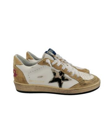 SNEAKERS GGDB BALL STAR BIANCHE blue express family golden goose deluxe brand