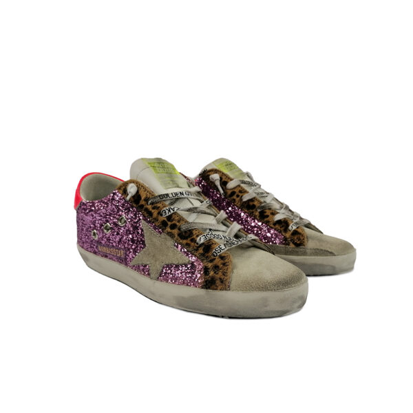 SNEAKERS GGDB SUPER-STAR ROSA blue express family golden goose