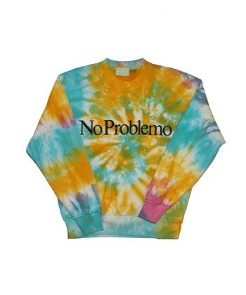 FELPA NO PROBLEMO TIE DYE Aries blue express family