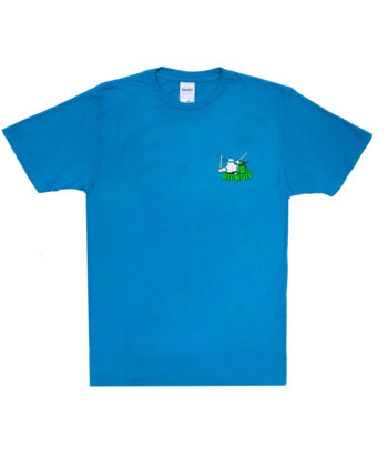 T-SHIRT TEENAGE MUTANT RIP N DIP BLUE ripndip blue express family