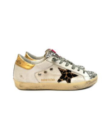 SNEAKERS GGDB SUPER-STAR BIANCHE blue express family Stella Verona