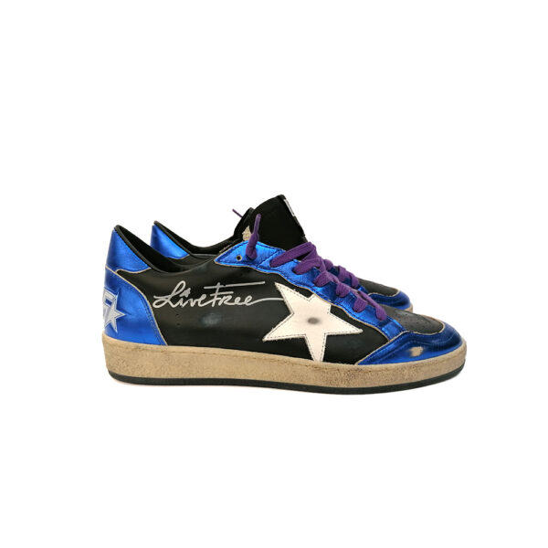 SNEAKERS GGDB BALL STAR NERE blue express family
