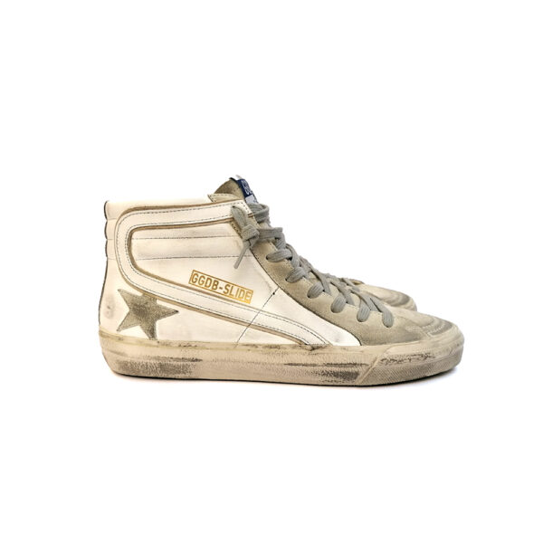SNEAKERS GGDB SLIDE BIANCHE blue express family sneakers golden goose