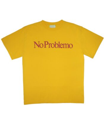 T-SHIRT NO PROBLEMO YELLOW ARIES blue express family