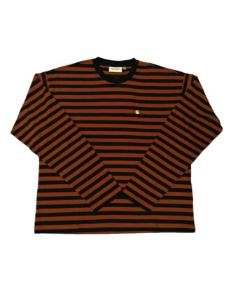 T-SHIRT CARHARTT MARRONE/NERO WIP Blue Express Family