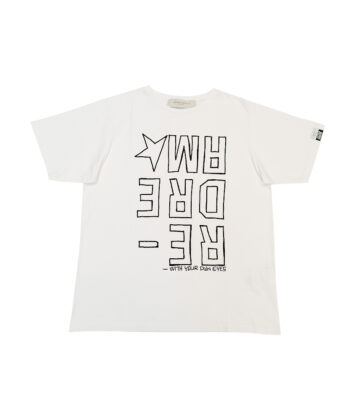 T-SHIRT GGDB AIRA BIANCA blue express golden goose t shirt